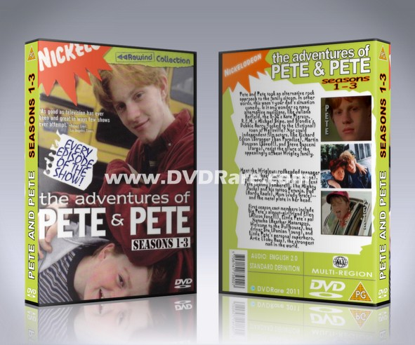 The Adventures of Pete & Pete DVD - Seasons 1-3 - Nickelodeon