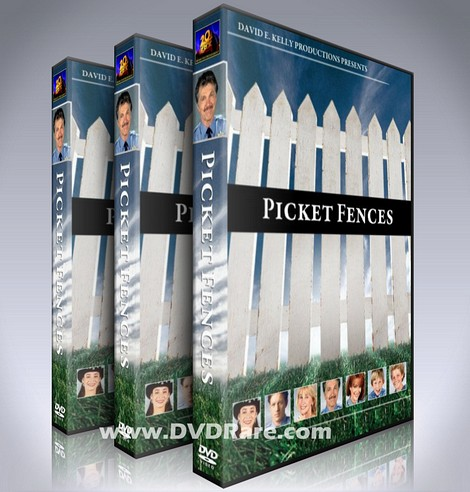 Picket Fences DVD Box Set - Seasons 1-4 - 1990s TV