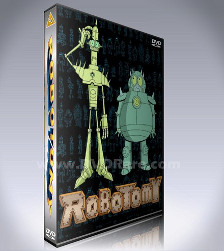 Robotomy DVD - Every Episode - Cartoon Network