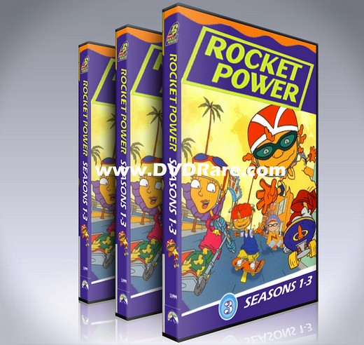 Rocket Power DVD Box set - Every Episode - Seasons 1-3