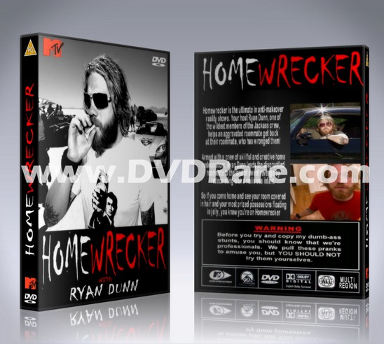 Ryan Dunn HOMEWRECKER DVD - Every Episode - MTV