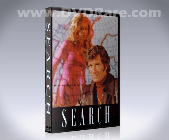 Search DVD - TV Show - Hugh O'Brian - 1972 - Probe