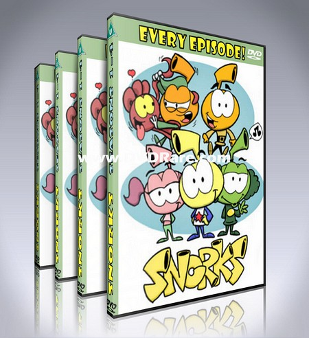 Snorks DVD Box Set - Seasons 1-4 - EVERY EPISODE!
