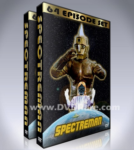 Spectreman DVD Box Set - Complete 64 Episodes - In English