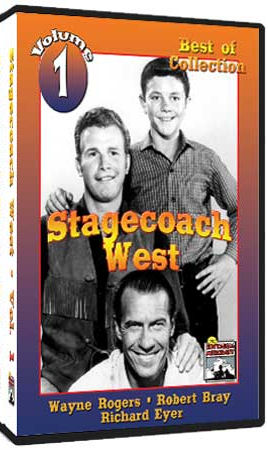 Stagecoach West DVD - 1960 - Classic Western TV Show