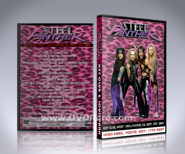 Steel Panther Live DVD - Tokyo & Hollywood Key Club