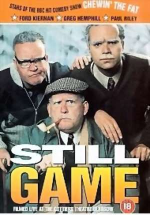 STILL GAME DVD - LIVE at the Cottier's Theatre