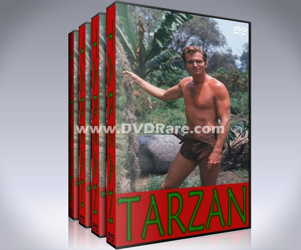 Tarzan DVD - Ron Ely - EVERY EPISODE - 1966 - NBC - 1960s