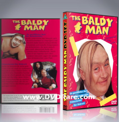 The Baldy Man DVD - Scotland - Gregor Fisher - Sitcom