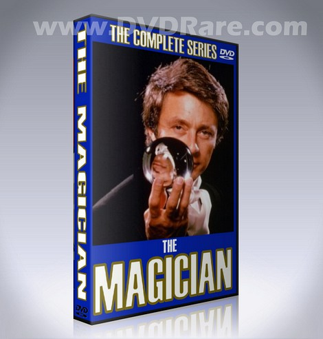 The Magician DVD - Bill Bixby - 1974 - Complete