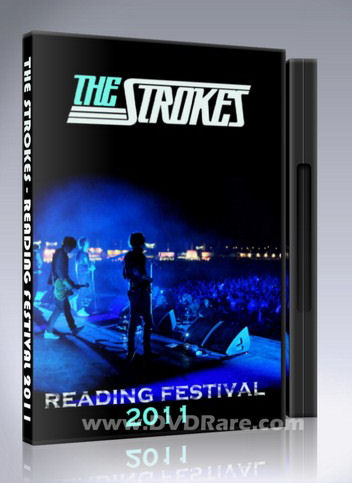 The Strokes Reading Festival DVD - 2011 - Leeds