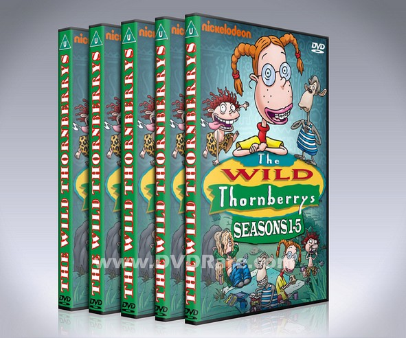 The Wild Thornberrys DVD - Seasons 1-5 DVD Box Set -Nickelodeon