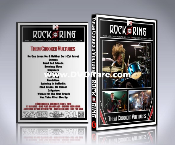 Them Crooked Vultures DVD - Live Rock am Ring - Germany