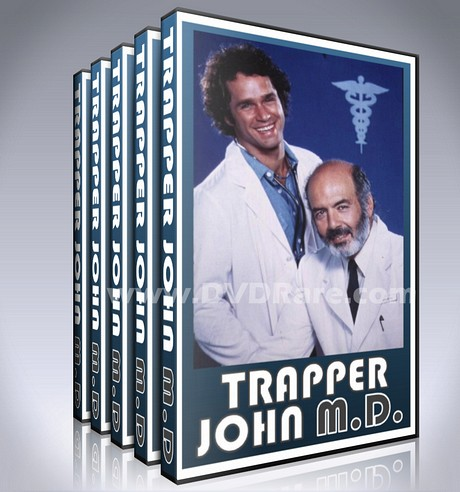 Trapper John, M.D. DVD - Seasons 1-7- MASH