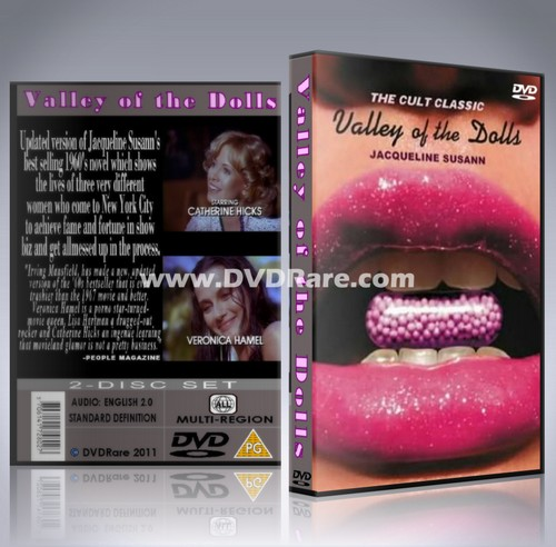 Jacqueline Susann's Valley of the Dolls DVD (1981)