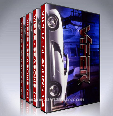 Viper DVD - TV Show - Seasons 1-4 - 1994 Box Set