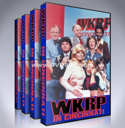 WKRP in Cincinnati DVD - Seasons 1-4 - 1978