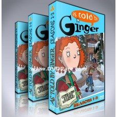 As Told By Ginger DVD  Seasons 1-3 -  Nickelodeon - Foutley
