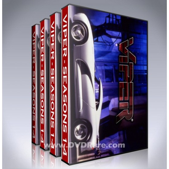 Viper DVD Box Set - Seasons 1-4 - Complete